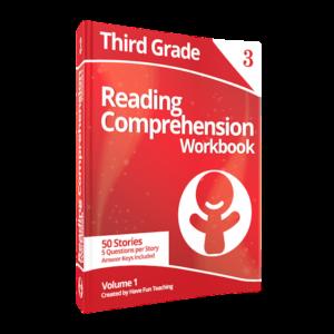 Third Grade Reading Comprehension Workbook Volume 1