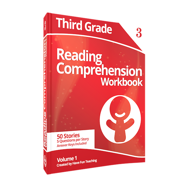 Third Grade Reading Comprehension Workbook Volume 1 Download