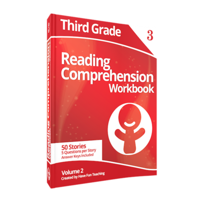 Third Grade Reading Comprehension Workbook Volume 2