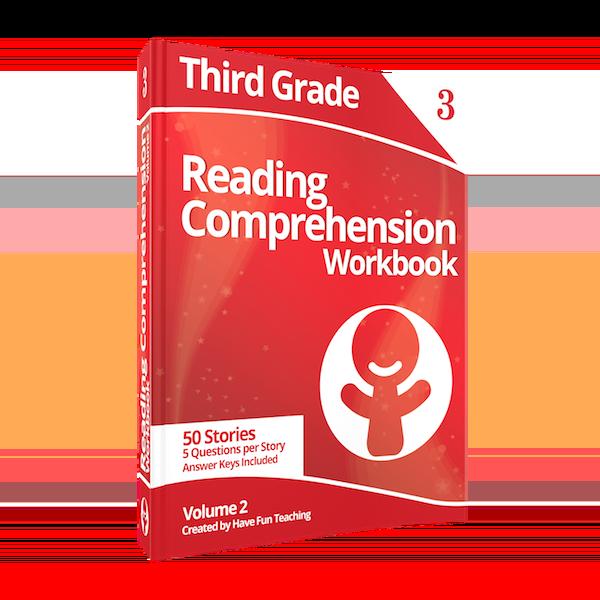 Third Grade Reading Comprehension Workbook Volume 2 Paperback