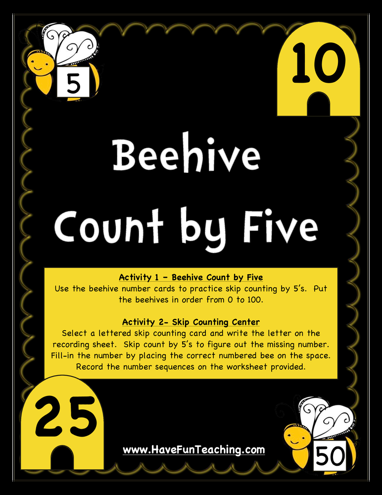 beehive count by five activity