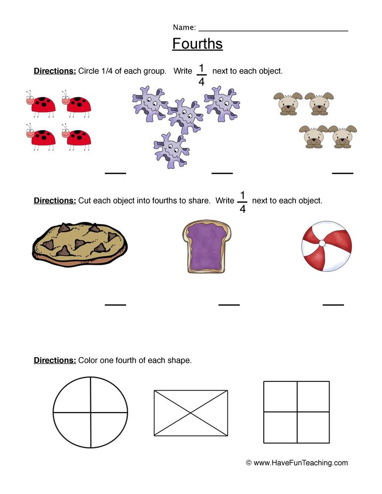 Adding fractions worksheets fourth grade