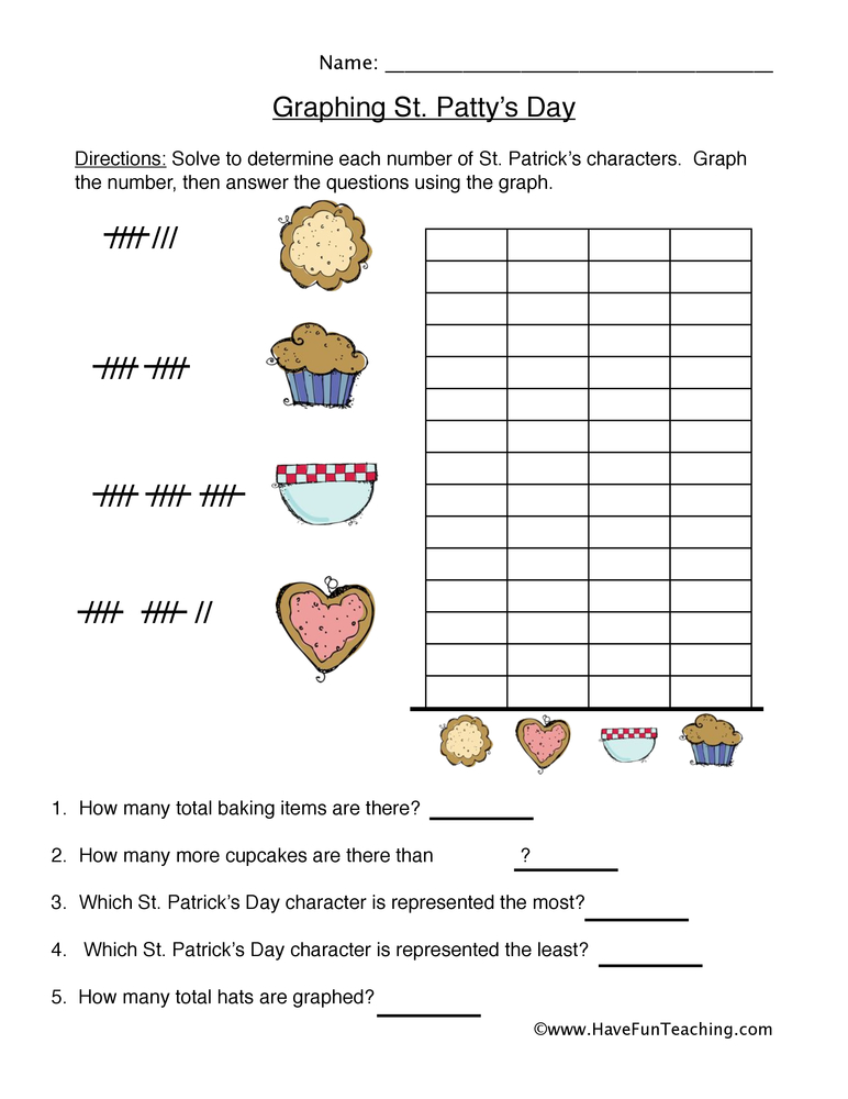 graphing worksheet 4