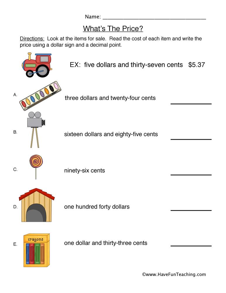 Write essay money