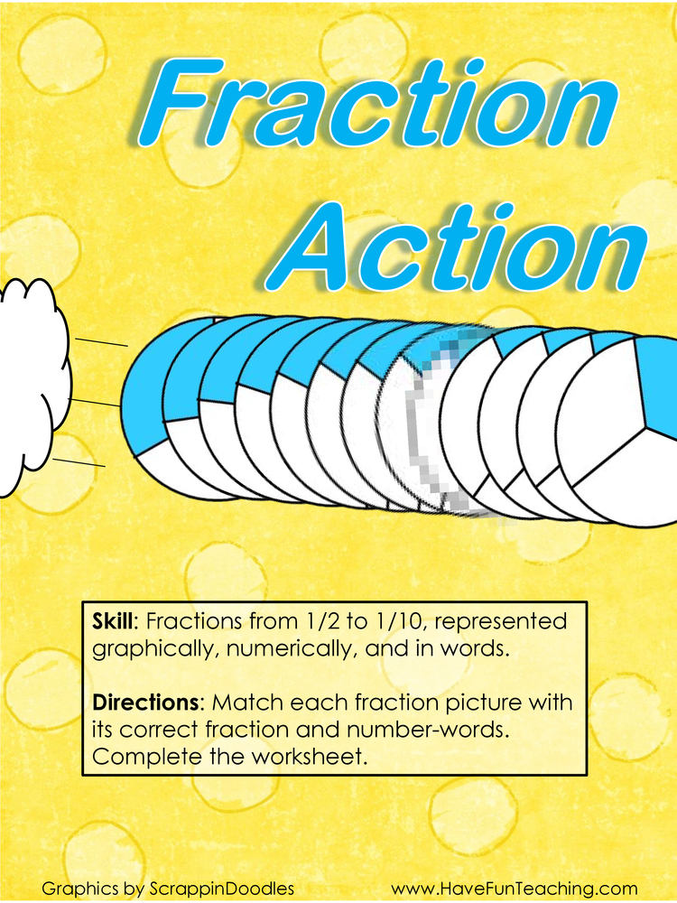 fraction action fractions activity