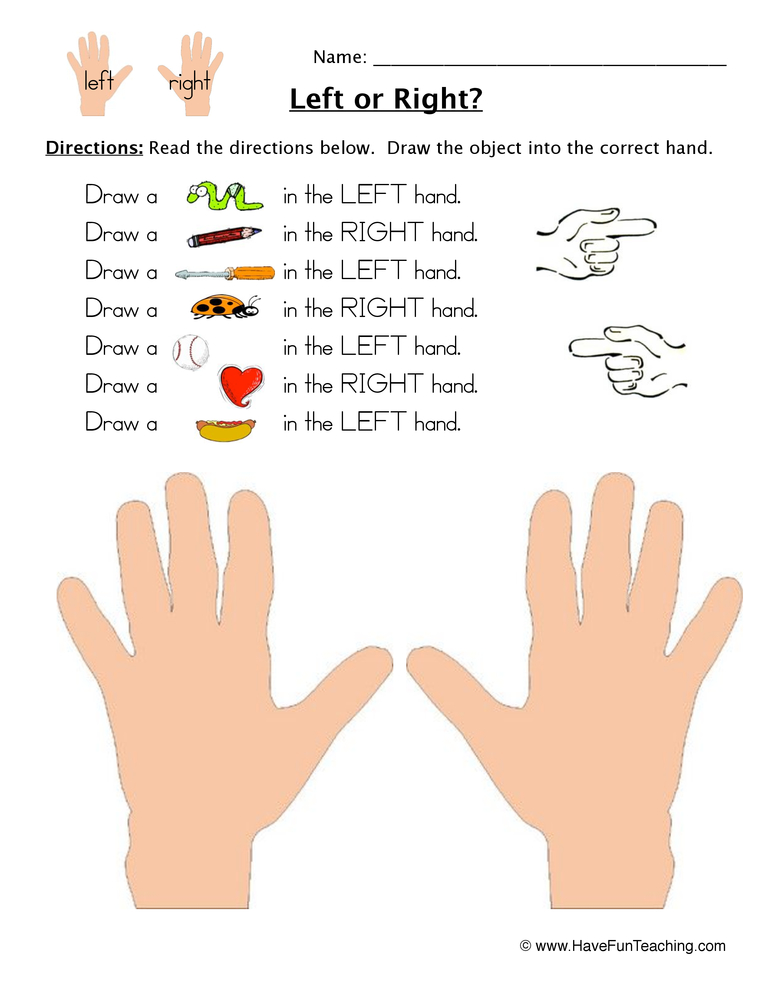 Following Directions Worksheet Coloring on Following Directions Worksheet Drawing