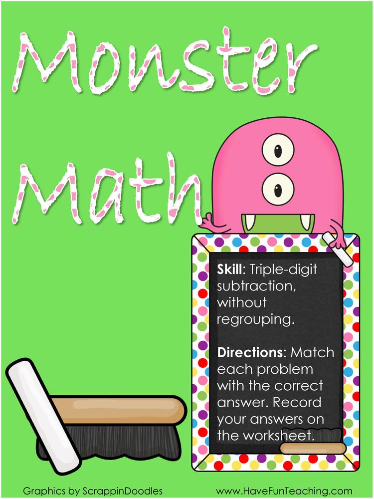 Math Activities Resources