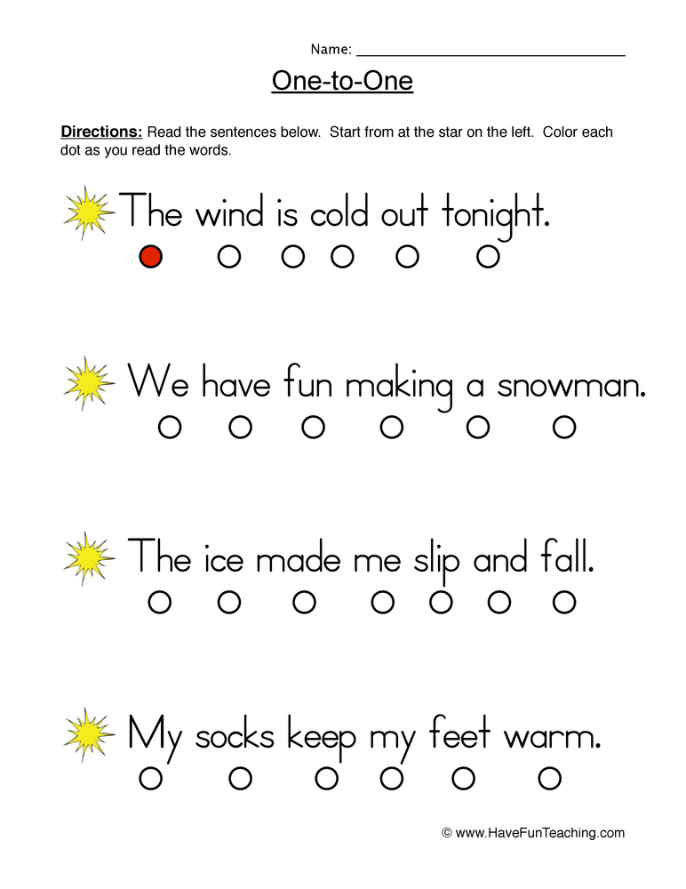 Fluency Worksheets | Have Fun Teaching