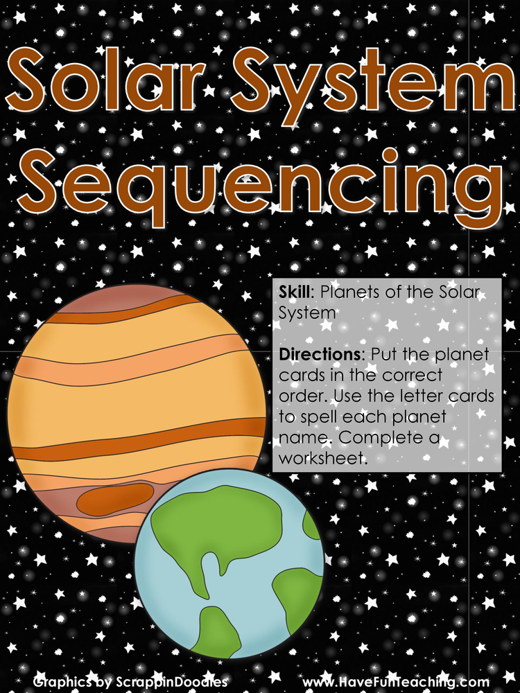 solar system sequencing planets activity