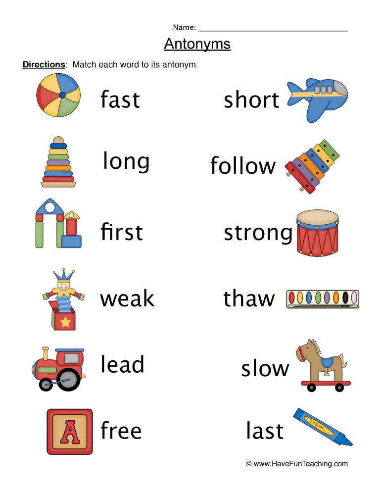 Worksheet Free Antonym Worksheets antonyms worksheet worksheet
