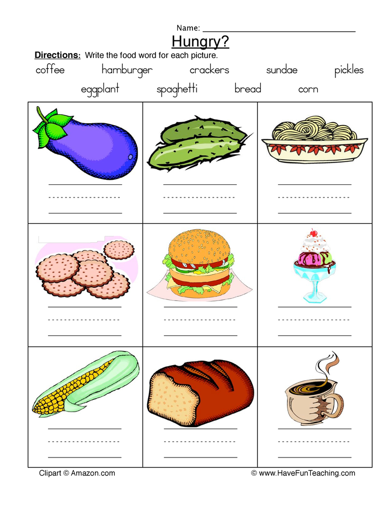 Health and nutrition worksheets have fun teaching for Cuisine sentence