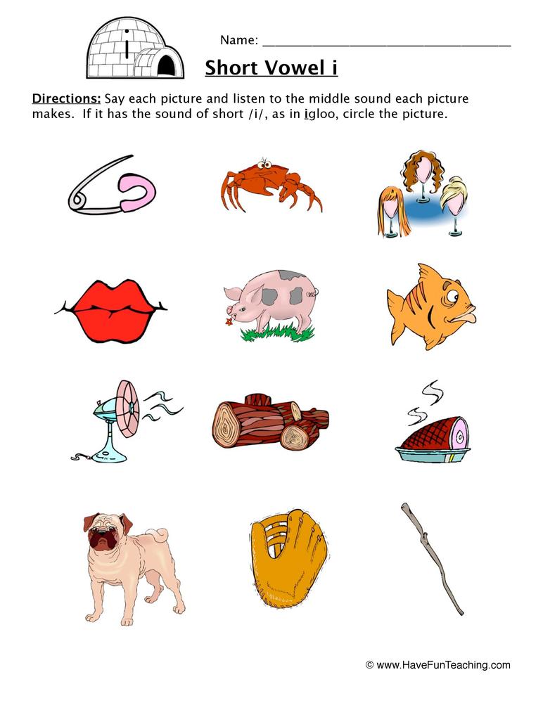 short vowels worksheet have fun teaching. Black Bedroom Furniture Sets. Home Design Ideas
