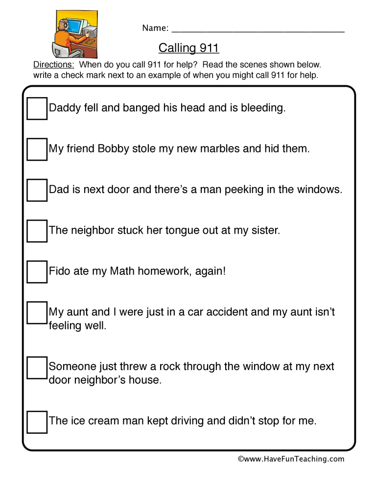 Community Worksheets | Have Fun Teaching