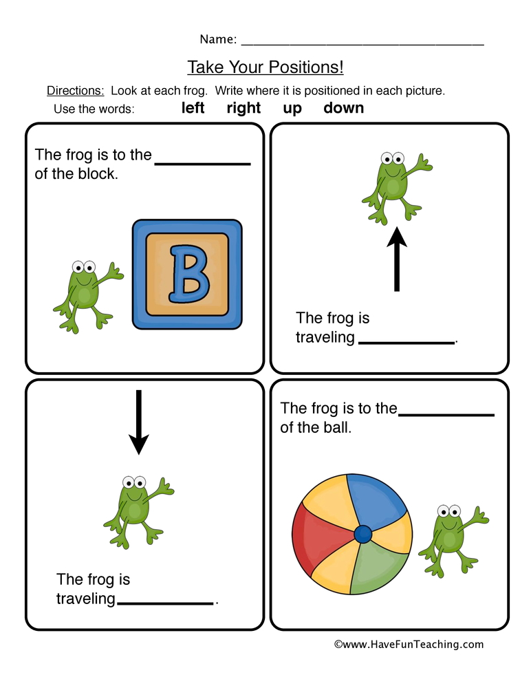 math worksheet : prepositions worksheets  have fun teaching : Kindergarten Preposition Worksheets