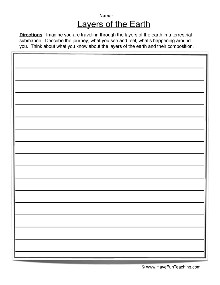 printable worksheets layers of the earth worksheets middle school printable worksheets guide. Black Bedroom Furniture Sets. Home Design Ideas