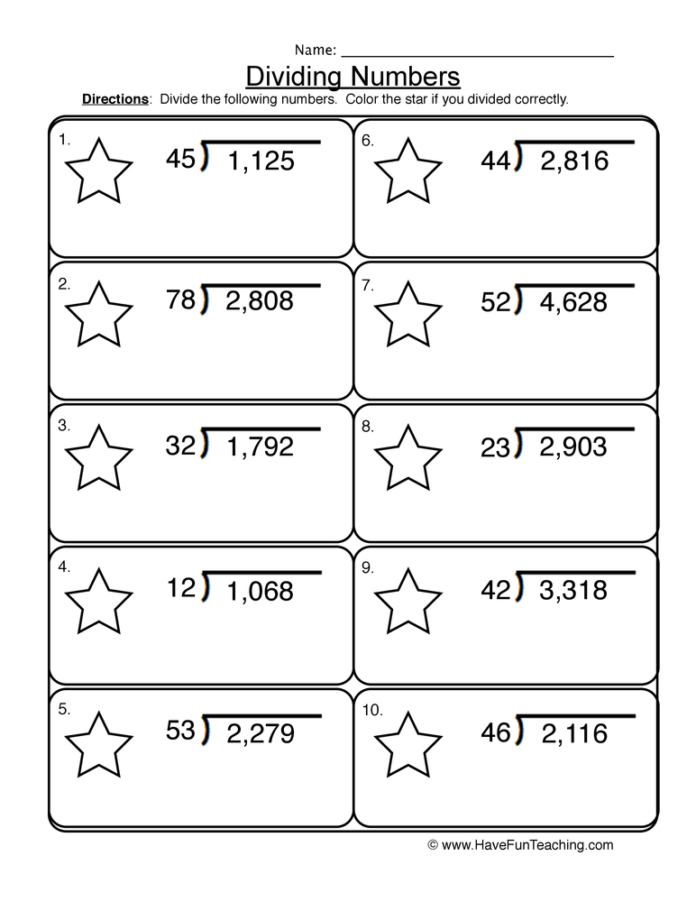 Fifth Grade Worksheets - Have Fun Teaching