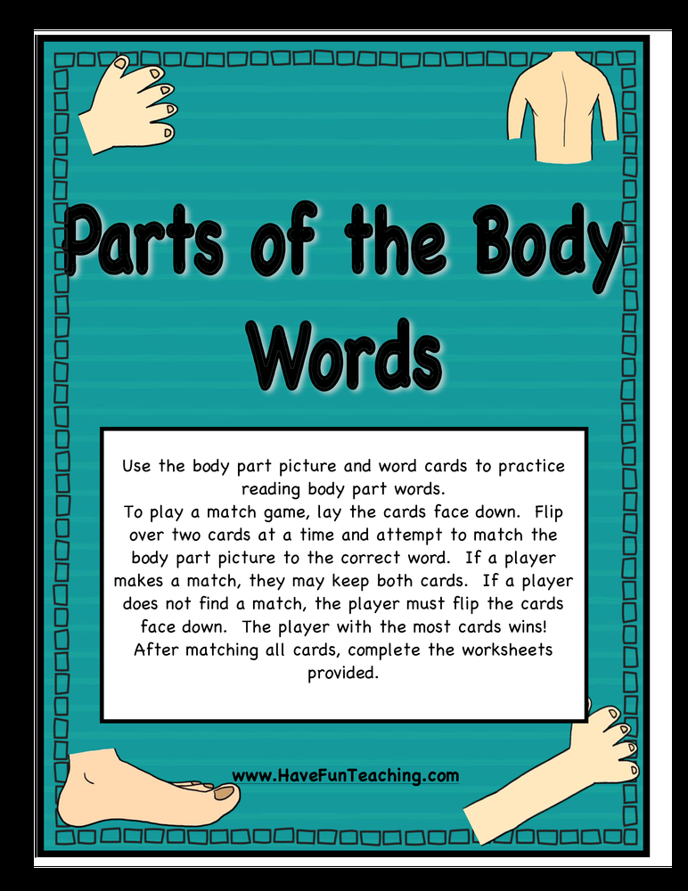 body parts matching activity.pdf