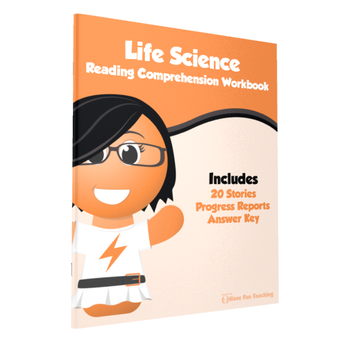 Life Science Reading Comprehension Workbook Paperback