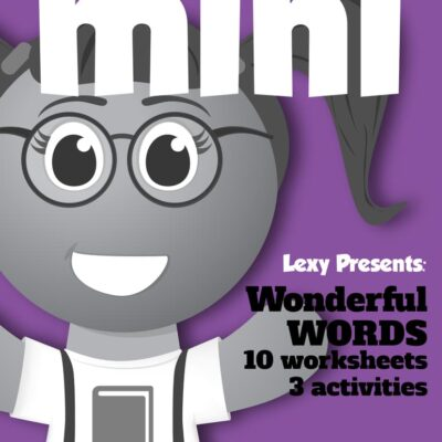 Wonderful Words Mini Pack
