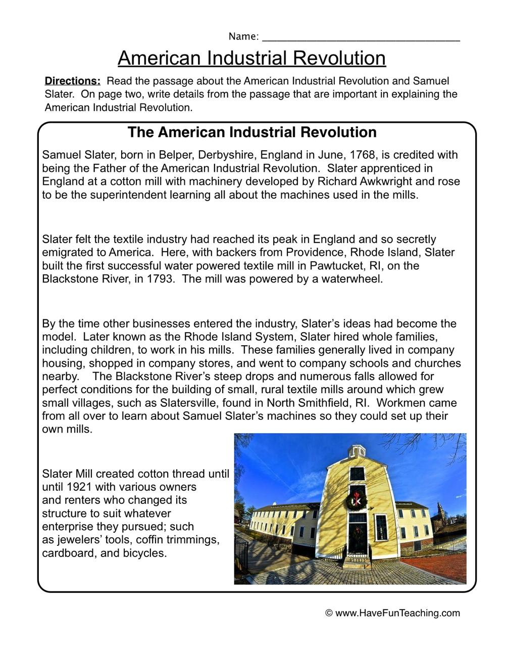 Fifth Grade Social Studies History Worksheets Resources
