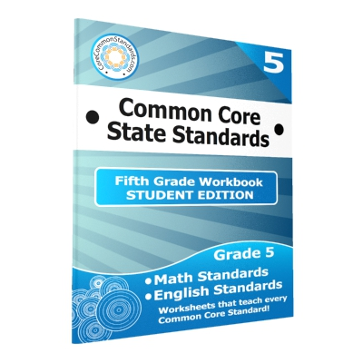 Fifth Grade Common Core Workbook - 25 Student Editions