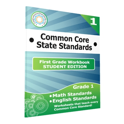 First Grade Common Core Workbook - 25 Student Editions