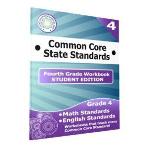 Fourth Grade Common Core Student Edition Workbooks
