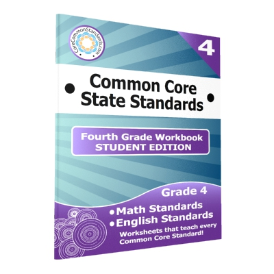 Fourth Grade Common Core Workbook - 25 Student Editions