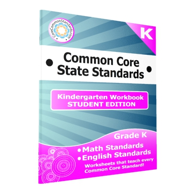 Kindergarten Common Core Student Edition Workbooks