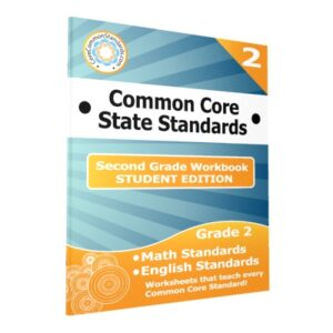 Second Grade Common Core Student Edition Workbooks