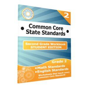 Second Grade Common Core Student Edition Workbooks