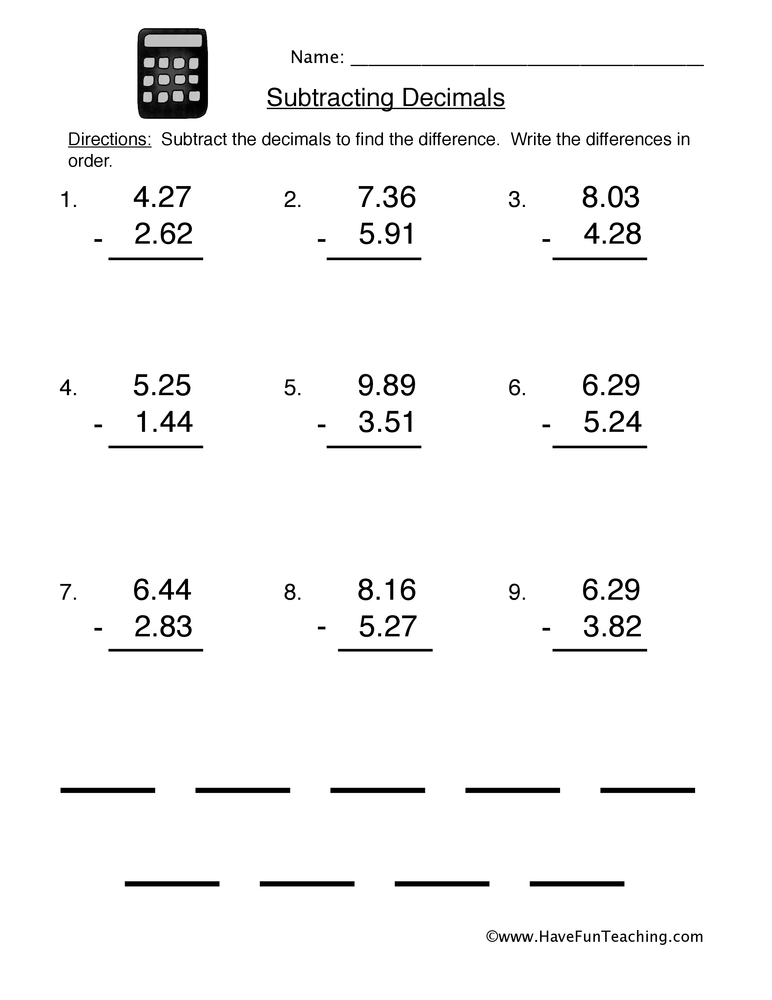 math worksheet : decimal worksheets  have fun teaching : Addition Of Decimals Worksheets
