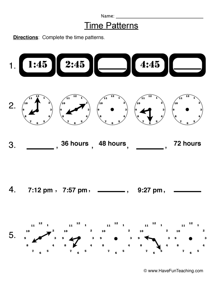 Units Of Time Have Fun Teaching. Telling Time Worksheet 2. Worksheet. Units Of Time Worksheet Year 2 At Mspartners.co