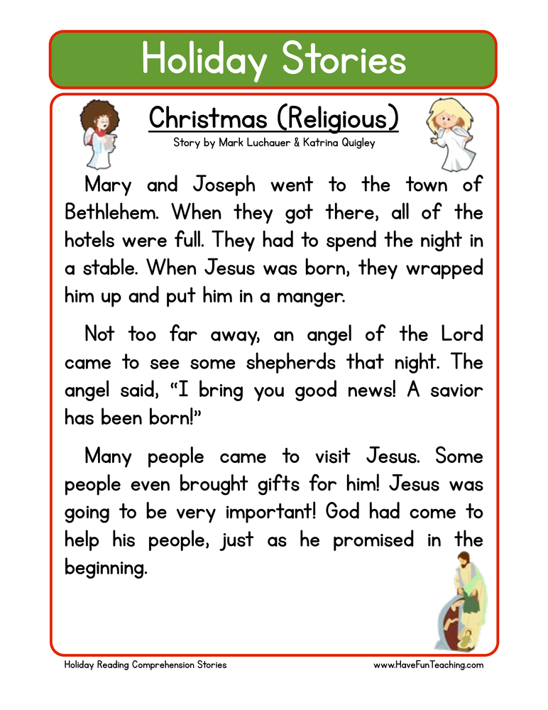 Worksheets Holiday Worksheets christmas worksheets have fun teaching second grade reading comprehension worksheet holiday stories christian christmas