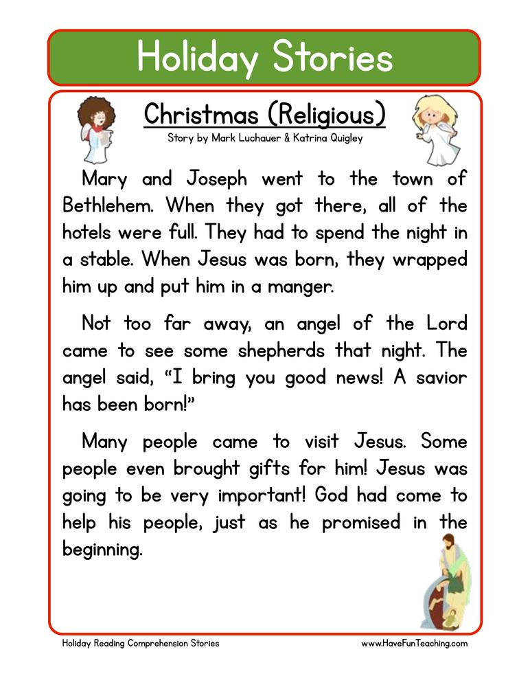 Christmas Worksheets – Ela Worksheets