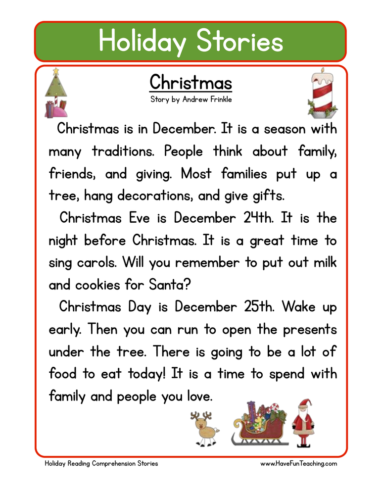 Worksheets First Grade Christmas Worksheets christmas worksheets have fun teaching holiday stories comprehension christmas
