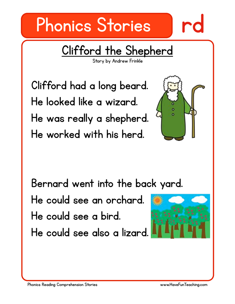 First Grade Reading Comprehension Worksheets - Page 2 of ...