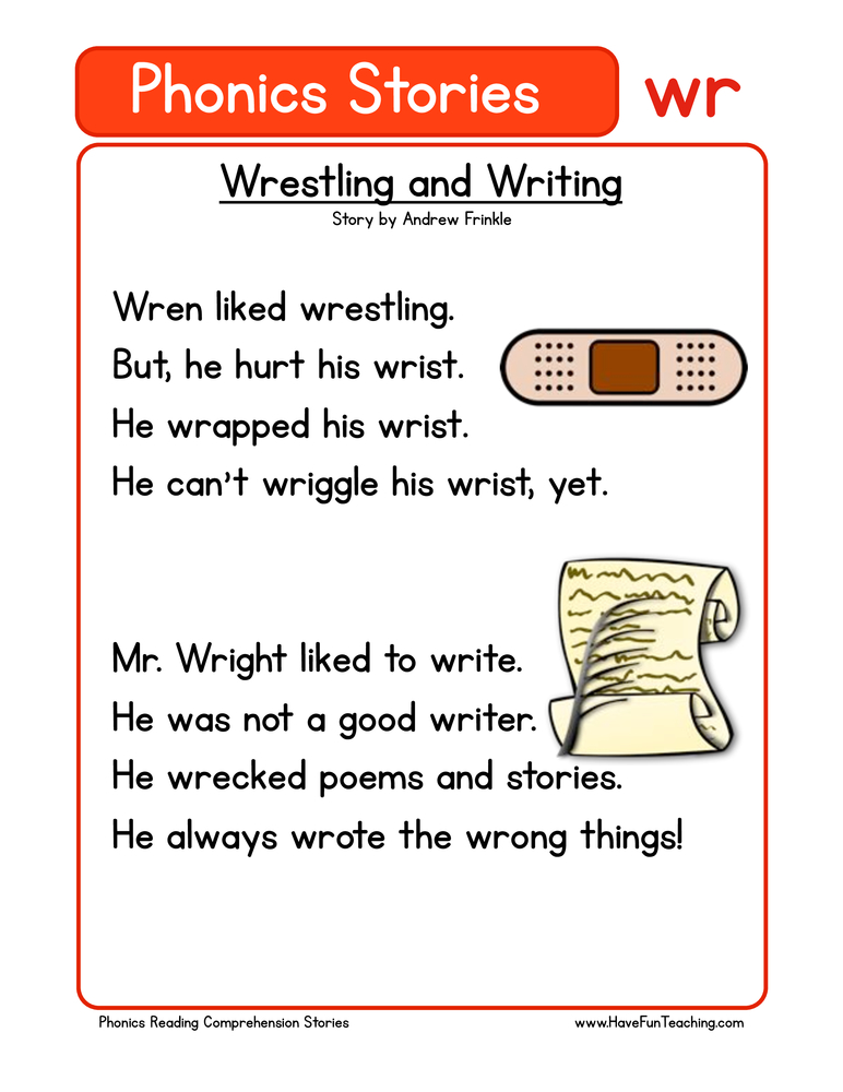 Worksheets 1st Grade Comprehension Worksheets Free reading comprehension worksheets have fun teaching phonics stories wr