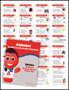 Kindergarten Alphabet Reading Comprehension Mega Bundle
