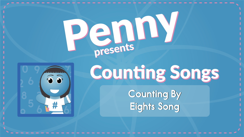 Counting By Eights Song (Audio)