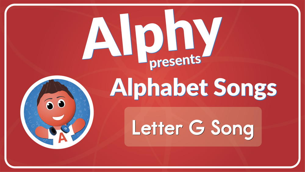 Letter G Song (Audio)