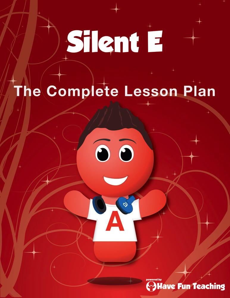 Silent Vowel E Lesson Plan