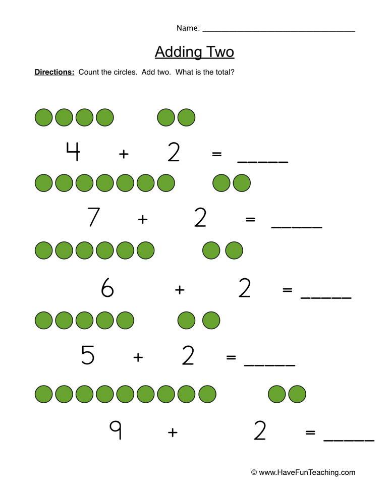 Counting By Twos Worksheet Kindergarten