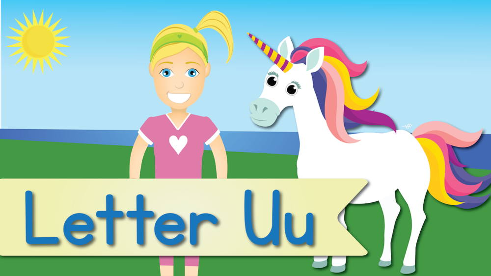 Letter U Song (Animated)