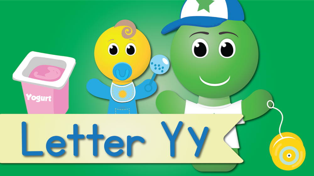 Letter Y Song (Animated)