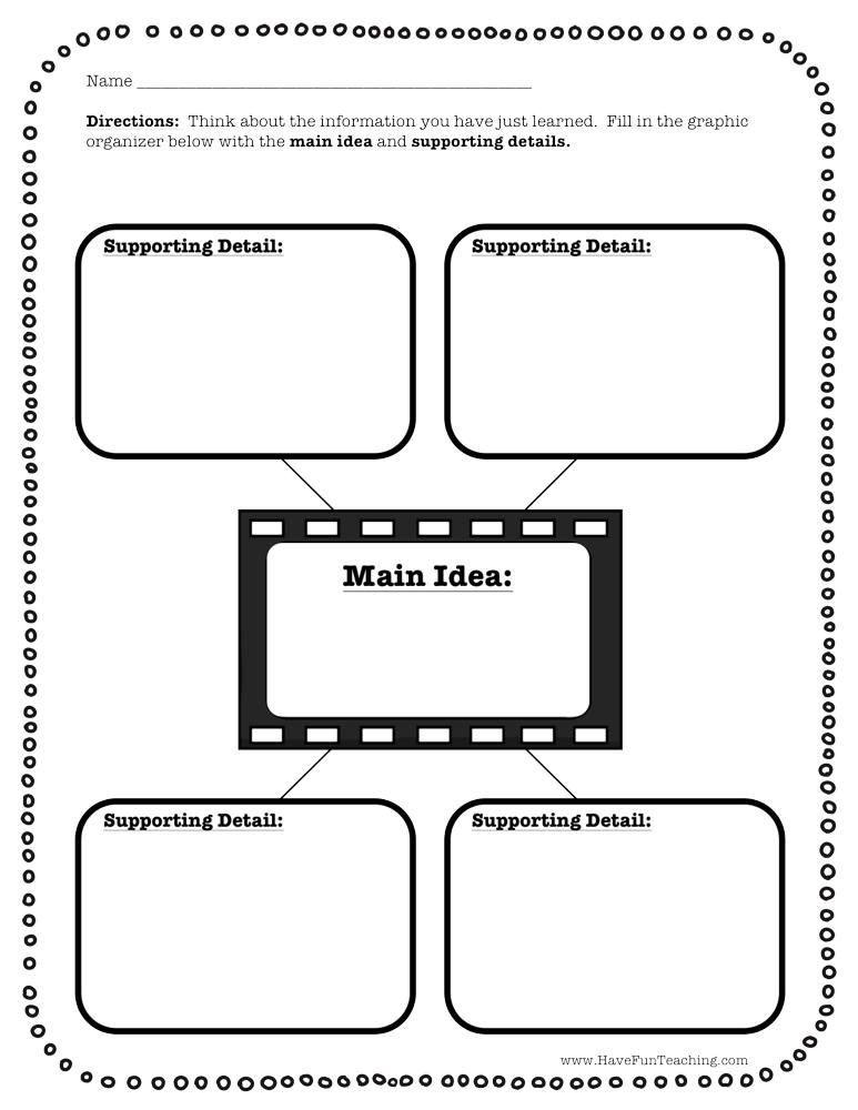 Fourth Grade Main Idea Resources Have Fun Teaching