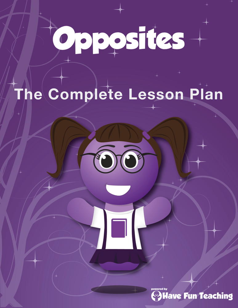 Opposites Lesson Plan