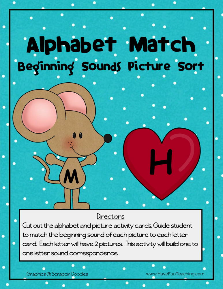 Alphabet Match Activity