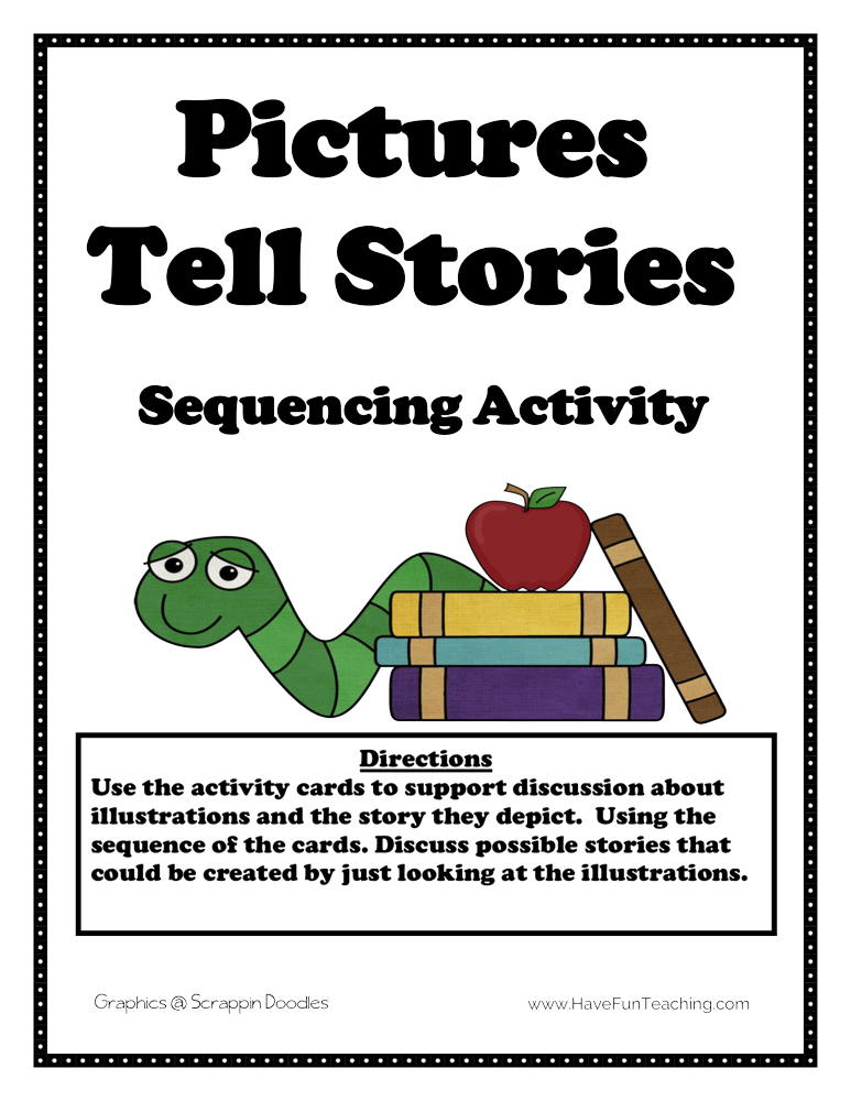 Pictures Tell Stories Sequencing Activity