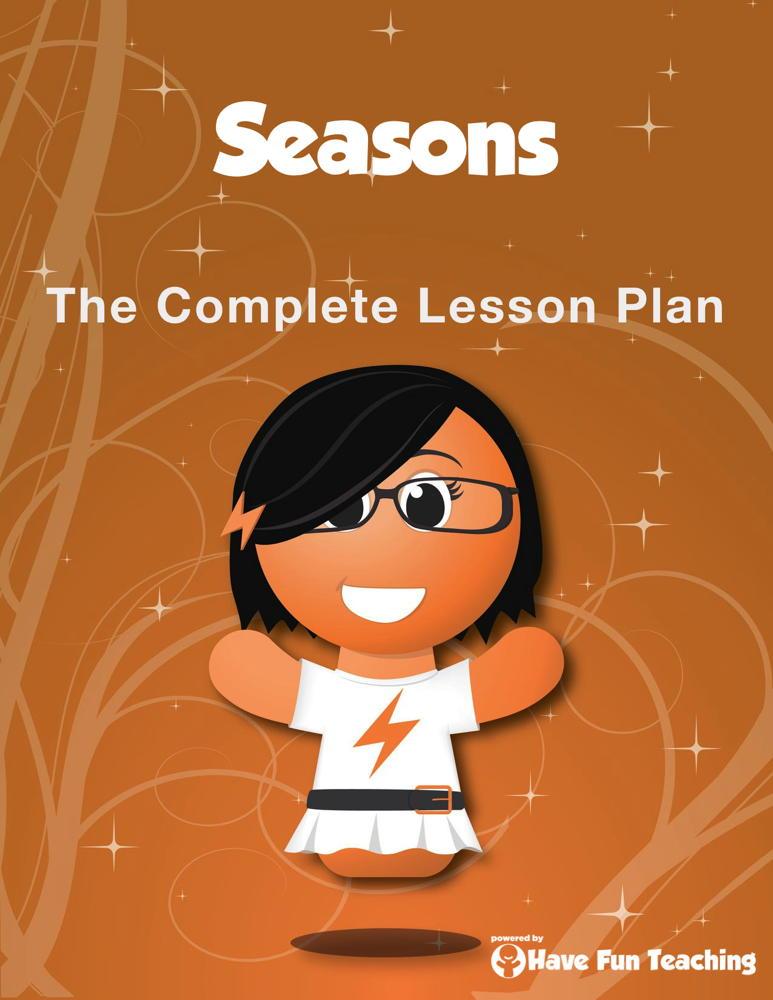 Seasons Lesson Plan